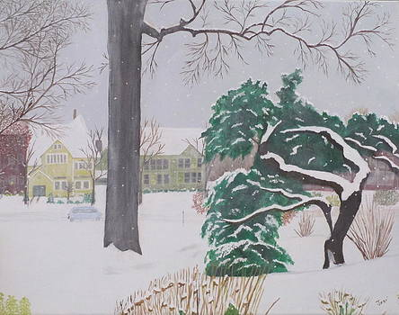 Another Snow Fall by Hilda and Jose Garrancho