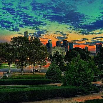 Another #sunset From Last Night Fall Is by Dan  Diamond