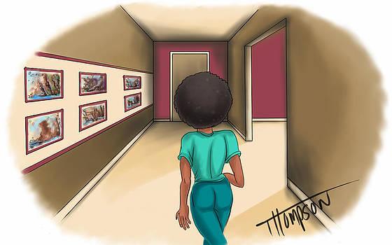 Answering The Door by Antonio Thompson