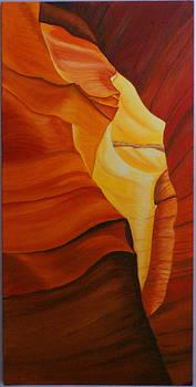 Antelope canyon 1 by Paul Santander