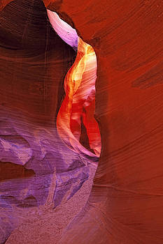 Antelope Canyon Passage by Ray Still