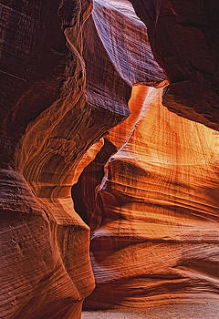 Antelope Canyon Textures by Ray Still