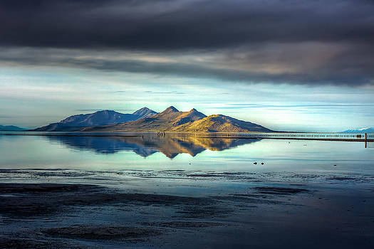 Antelope Island by Kevin Rowe