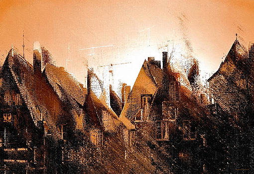 Antennae and Roofs by Barbara D Richards