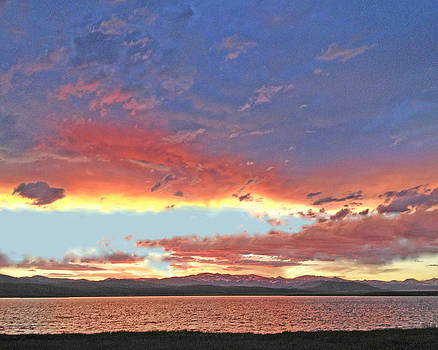 Antero Sunset by Carl Bandy