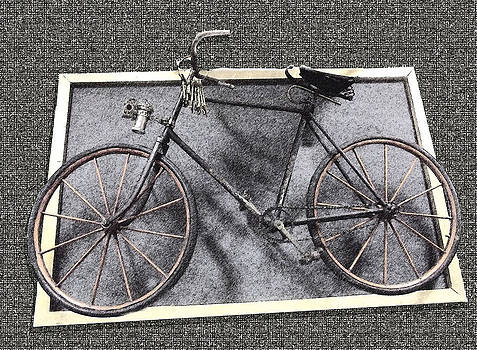 Antique Bicycle  by Joyce  Wasser