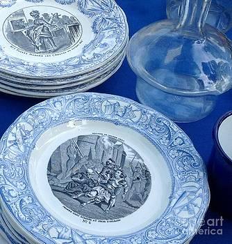 Antique Bleu by France  Art