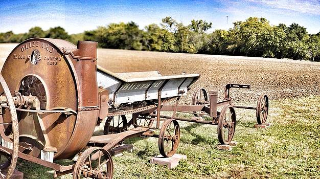 Antique Blizzard Silage Blower by Jeremy Linot