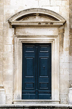 Oscar Gutierrez - Antique Blue Door