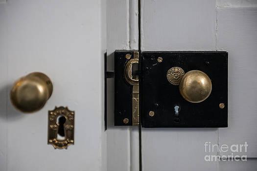 Dale Powell - Antique Brass Lock