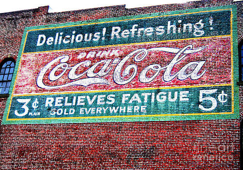 Antique Coke Sign by Bob McGill