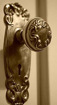 Marilyn Wilson - Antique Doorknob - sepia