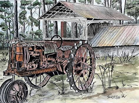 Antique Farm Tractor   by Derek Mccrea