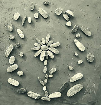 Antique Flower by Milan Pilipovic