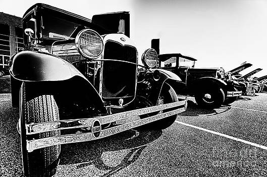 Danny Hooks - Antique Ford Car at Car Show