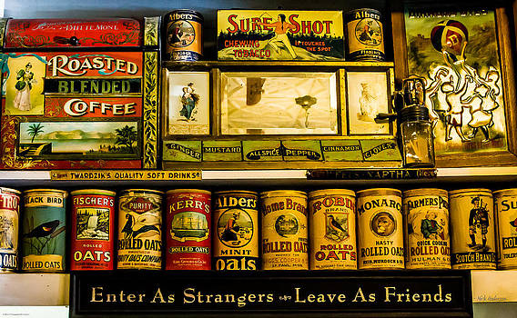 Mick Anderson - Antique Grocery Shelf