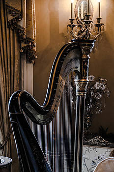 Antique Harp by Jesse Wright