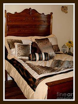 Gail Matthews - Antique High Back Bed