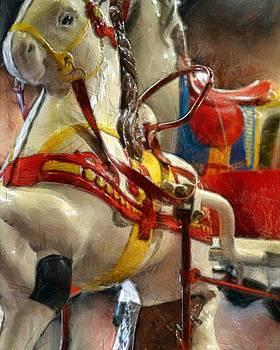 Michelle Calkins - Antique Horse Cart