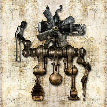 Antique mechanical figure by Diuno Ashlee