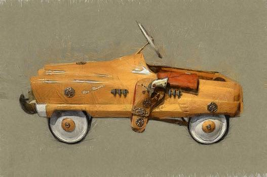 Michelle Calkins - Antique Pedal Car l