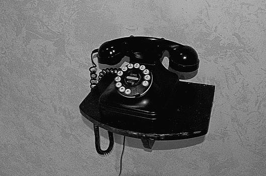 Antique Phone by Andres LaBrada
