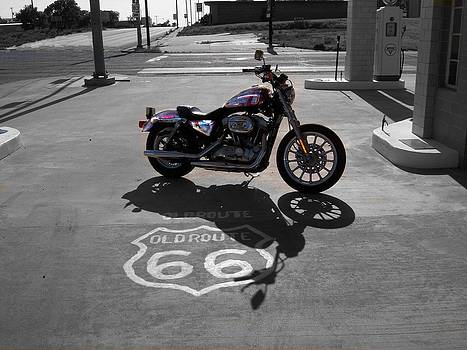 Antique Route 66 by Trevor Hilton