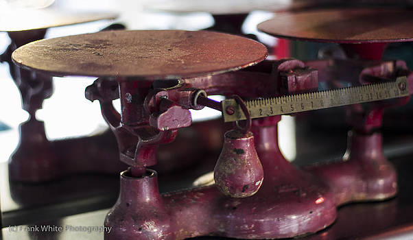 Antique Scale by Frank White