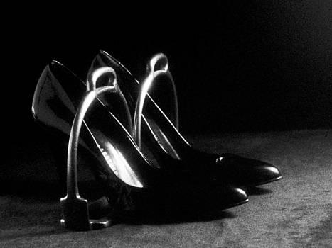 Stuart Brown - Antique shoes and spurs # BW