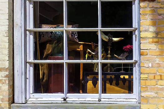 Lynn Palmer - Antique Shop Window Display