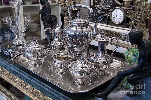 Gunter Nezhoda - Antique silver Tea set