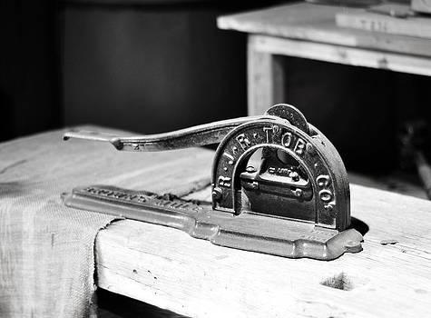 Rebecca Brittain - Antique Tobacco Cutter