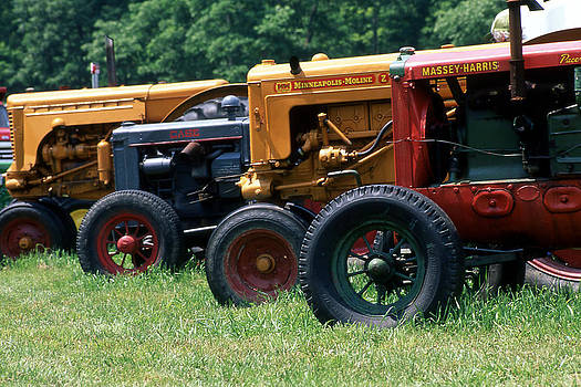 Antique Tractors  by Roger Soule