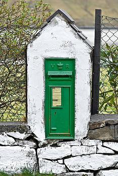 Jane McIlroy - Antique Victorian Mail Box in Ireland