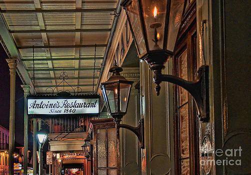 Kathleen K Parker - Antoines Restaurant New Orleans