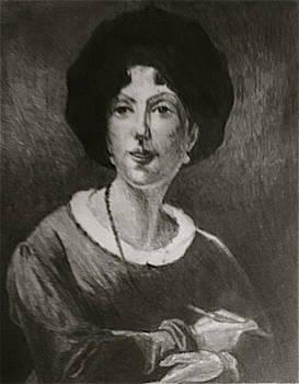 Antoinette Cecile Hortense Haudebourt-Lescot by Bruce Ben Pope