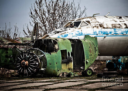 Antonov and Tupolev by Rastislav Margus