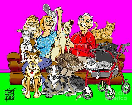 Antonow Family Portrait by Joe King