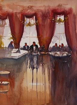 Antwerp cafe by Jan Min