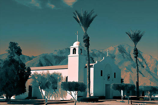 Anza Borrego Desert Church by Douglas MooreZart