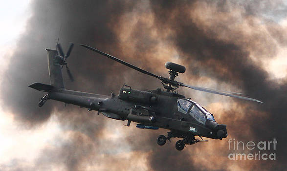 Apache Attack Helicopter by Tom Hard