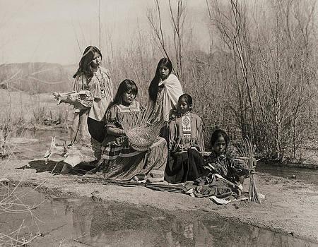 Santa Cruz Riverbed - Apache by Gary Auerbach