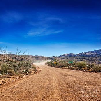 Jo Ann Snover - Apache Trail dirt road