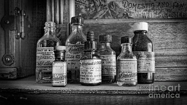 Apothecary BW by Laurinda Bowling