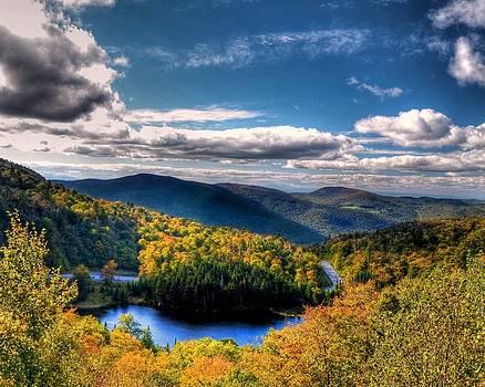 Appalachian Gap in Fall by Philip Bobrow