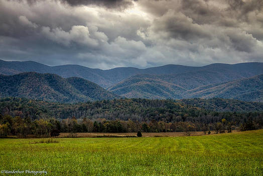 Appalachian Mountain Range GSMNP by Paul Herrmann