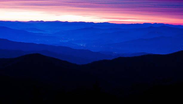 Appalachian Mountains  by Benjamin King