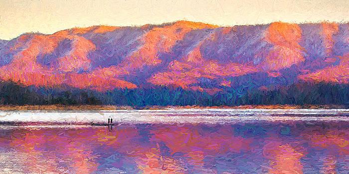 Appalachian Winter Sunset by Greg  Booher
