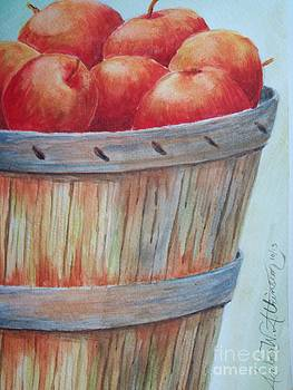 Apple Basket by Amber Whiting Bradley