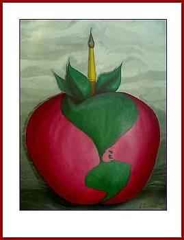 Apple of my eye by Jean Gauvreau